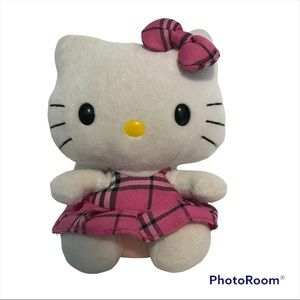 TY Hello Kitty Excellent Pre-Owned Condition plush Stuffed Toy Gift Collectable